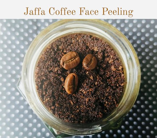 Natural Aufguss - Jaffa Coffee Face Peeling 100g