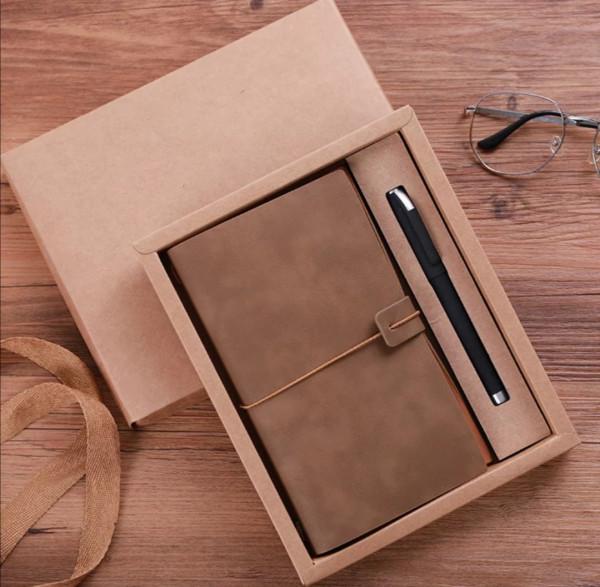 Geschenkset Box Notizblock Schreiber